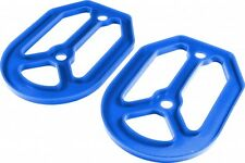 Apico PRO-BITE Foot Pegs Footrests SILICONE RUBBER UNDER PLATE BLUE UNIVERSAL
