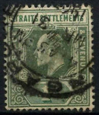 Straits Settlements 1902-3 SG#110, 1c Grey-Green KEVII Used #D46776