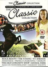 THE CLASSIC COLLECTION - 10 MOVIES, BLACK BEAUTY, MERLIN, ALICE IN WONDERLAND