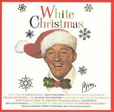 White Christmas by Bing Crosby - Music CD with 12 Holiday Songs NEW