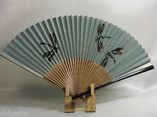 "Bamboo Folding Fan ""Dragonfly"" / Japanese Fan / Oumi Sensu Handmade New"