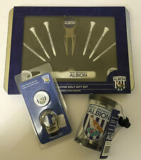 West bromich Albion Bundle Exec Golf Gift Set/Tee Shaker/Gruve Brush