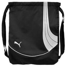 NEW PUMA PREMIUM FERRARI F1 TEAM SLIM SMALL BACKPACK GYM BAG BLACK PMBE113-BLWH