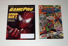 SPIDER-MAN MAGAZINE COMIC BOOK LOT GAMEPRO #189 1980 AIM PROMO GIVEAWAY GOBLIN