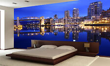 Dawn Reflections, Vancouver Wall Mural Photo Wallpaper GIANT WALL DECOR