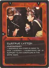 """Doctor Who MMG CCG - Character """"Gustave Lytton"""" Card"""