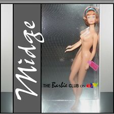 Barbie 50th Anniversary Best Friend Midge For The Adult Collector..NUDE For Ooak
