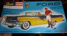 REVELL 1/32 FORD FAIRLANE SUNLINER MODEL CAR MOUNTAIN KIT 1/32 FS SSP