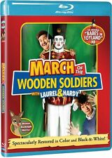 Blu Ray MARCH OF THE WOODEN SOLDIERS Laurel & Hardy. UK compatible. New sealed.