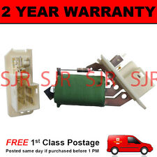 FOR VAUXHALL ASTRA HEATER BLOWER FAN RESISTOR MOTOR AIR CON CONDITIONING