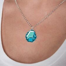 Minecraft Diamond ciondolo collana