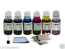 6x100ml Refill ink for Canon PGI-270 CLI-271 PIXMA MG7720 1p5d gray