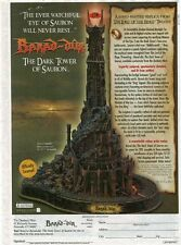 BARAD-DUR - LORD OF THE RINGS BY THE DANBURY MINT