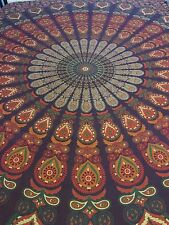 Queen Hippie Mandala Tapestry Indian Wall Hanging Bedspread Bohemian Gypsy Throw