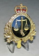 Canada - Canadian Forces - Legal Affairs Branch Cap Badge
