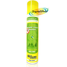 MoustiCare Mosquito & Insect Repellent Skin Spray FAMILY 125ml Deet Free
