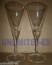 Alize Cocktail Martini Glasses - SET of 2 - BRAND NEW - FREE USA SHIPPING