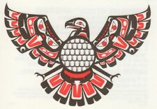 "AZTEC PHOENIX BIRD NATAVIE AMERICAN INDIAN TEMPORARY TATTOO * 3.5"" X 2.5"" * USA"
