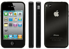 Griffin Elan Reveal Clear Hard Case w/Black Rubber Bumper fo iPhone 4 New