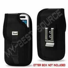 BLK w/Latch Holster Pouch/Clip iPhone 5/5S Galaxy S4 For Otterbox Preserver Case