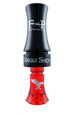 FIELD PROVEN CALLS SINGLE SHOT POLY DUCK CALL BLACK/RED NEW!!
