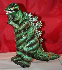 ANTIQUE GODZILLA BULLMARK VINTAGE TIN BATTERY OPERATED TIN TOY WITH BOX RARE