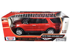 MOTORMAX 73186 2015 15 FORD EXPLORER XLT 1/18 DIECAST MODEL CAR RED