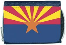Arizona Flag Denim Wallet