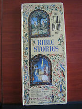 The Tall Book of Bible Stories by Katherine Gibson 1957 HC Beautiful Illustr