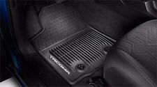 Toyota Tacoma 2016 AT Black All Weather Rubber Front Floor Mats - OEM NEW!