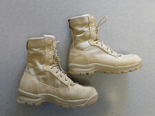"Danner ""Tanicus"" tan nylon and suede, 8 in tall boots. Men's 9 2E"