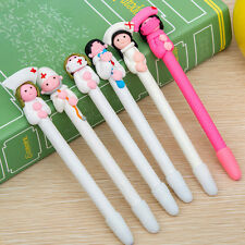 10 PCS Nurse Style Polymer Clay Ball Point Pens Nursing Pen Nurse Day Gifts KUY