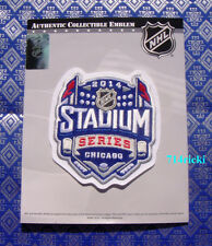 Official NHL 2014 Stadium Series Patch Chicago Blackhawks vs Pittsburgh Penguins