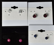 4 Pairs of Pierced Earring sets from Groupon Mystery Deal # 117 an $80.00 Value