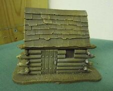 28MM pmc games FI01 (peint) small log cabin amovible toit-médiéval