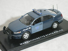 First Response 1/43 Massachusetts State Police Ford PI Sedan - SOLD OUT CAR!