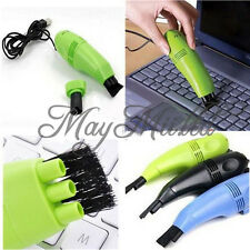 New Mini USB Vacuum Keyboard Cleaner Dust Collector LAPTOP Computer Sales E