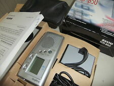 Dictaphone SANYO ICR-B50  digital voice recorder 110 min used twice ... 28
