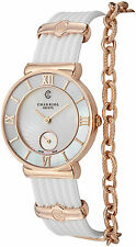 Charriol Women's St Tropez MOP Dial Swiss Quartz Rubber Strap Watch ST30PI174010