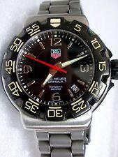 TAG HEUER FORMULA 1, professional 200m,MEN'S,BLACK dial,diver,WAC1110-0