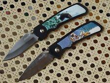 2 Taschenmesser von Maxam - neu - Wildlife Series