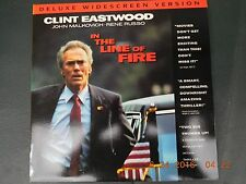 IN THE LINE OF FIRE LASERDISC WIDESCREEN