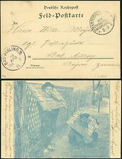 102/DP China PK Gefangene ° KD Feldpostexpedition a 2/3/1901 Bad Aibling