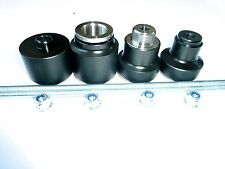 KTM 690 SMR SMC SM DUKE LC4 FRONT REAR AXLE CRASH MUSHROOMS SLIDERS BOBBINS S1W