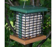 Bird Feeder Recycled  2 Cake Plastic Suet Birdfeeder !