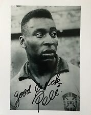 Pele ( Brasil / Brazil ) signed 10x8 photo Image A UACC Registered dealer