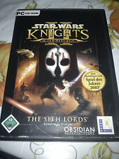PC Spiel   Star Wars  Knights of the Old Republic II  The Sith Lords