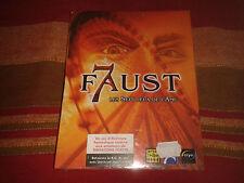 FAUST 7 LES SEPT JEUX DE L'AME BIG BOX COMPLET PC CD-ROM NEUF SOUS BLISTER