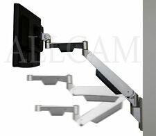 GSW130 Gas Spring Wall Mount bracket for LCD TV/Monitors w/horizontal extension