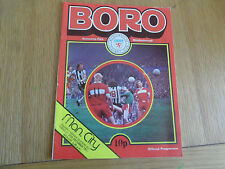 Vintage Programme: Middlesbrough FC v Manchester City 27.12.76